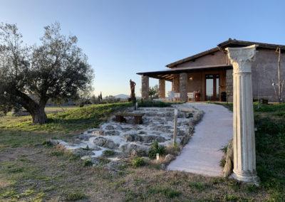 Resort_Fonte_Vulci_reception_ingresso_agriturismo_camping_area_sosta_camper_ristorante_Vulci